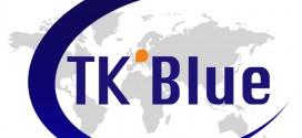 TK' BLUE AGENCY MAKES ITS LOGO EVOLVE