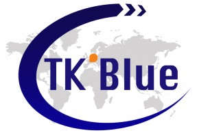 TK' BLUE AGENCY MAKES ITS LOGO EVOLVE